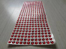500pcs 4mm All Red 3D Holographic Fishing Lure Eyes. Fly Tying, Jigs, Crafts