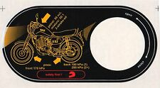 MZ ETZ 251 FUEL TANK STICKER