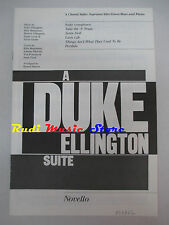 SPARTITO A DUKE ELLINGTON suite NOVELLO VOICES cd mc dvd lp