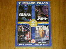 thriller films collection the cruel deep/jet/the last line of defence/storm dvd