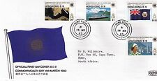 Hong Kong 1983 Commonwealth Day first day cover