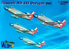 """MD 450 OURAGAN """"PATROUILLE DE FRANCE"""" (SPECIAL FRENCH AF MKGSS) 1/72 VALOM"""