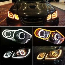 ★Imported 2Pcs X 60CM Flexible AUDI DRL-Day Light LED tube For Skoda Laura★