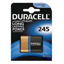 DURACELL 245 2CR5 BATTERY LITHIUM 6V ULTRA M3 PHOTO BATTERIES EL2CR5 DL245