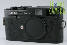 Leica M4-2 35mm Rangefinder Film Camera In Black #9835D4