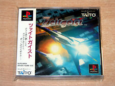 PS1 / Playstation - Zeitgeist by Taito + SPINE CARD / Japanese / Jupiter Strike