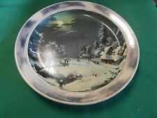 Collector Plate-CHARMS OF COUNTRY LIFE A Winter's Evening-Elizabeth Paetz-Kalich