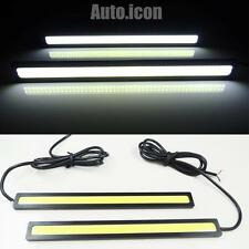 High Power HID White COB LED Daytime Running Lights Lamps DRL Waterproof NEW