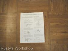 1960's Deluxe Reading SUZY SMART Doll Replace RECORD & OPERATING Leaflet (Repro)