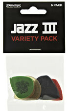 Dunlop Jazz III Picks Variety Pack – 6 pack