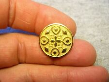 Fancy Gilt Brass Martin Van Buren Excelsior Presidental Election Coat Button