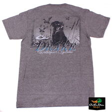 NEW DRAKE WATERFOWL SOUTHERN COLLECTION SOUTHERN LAB S/S T-SHIRT GRAPHITE XL