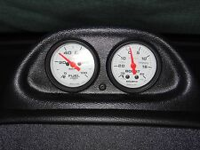 94-97 Mustang GT, Cobra or V6 Auto Meter Dash Clock Dual Gauge Pod Autometer