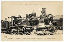 Railway Postcard P03158 : Carte Postale : Locomotives Françaises (Nord, P-O etc]