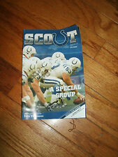 2007 Indianapolis Colts Vs Denver Broncos Scout Program Magazine Manning