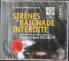2 NOUVELLES POLICIERES INEDITES Dominique SYLVAIN lues par JULIE GAYET  CD