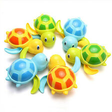 Toys Baby Children Bath Toy Wound-up Chain Small Animal Toy Swim Turtle