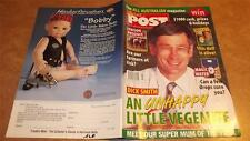 AUSSIE POST MAGAZINE July 1999 DICK SMITH spooky doll MAGIC WATER working horses