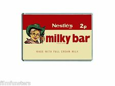 NESTLE MILKY BAR 1970's Milky Bar Kid NOSTALGIA JUMBO COLOUR Fridge Magnet