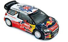 1/18 NOREV CITROEN DS3 WRC  World Champion Rallye GB 2011  Loeb / Elena 181557