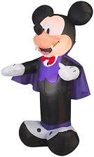 5' Airblown Mickey as Vampire Disney Halloween Inflatable