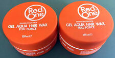 Red One Maximum Gel Aqua Hair Wax X 2- Sweet Melon Fragrance 150ml