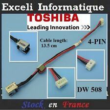 Dc Power jack cable connector dw508 toshiba Satellite C55T-a-103 Connecteur