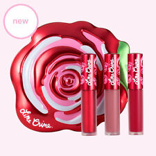 LIME CRIME MINI VELVETINES BOXED SET VELVE-TIN LIPSTICK JINGLE+SASHA+RED ROSE !!