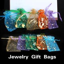 Wholesale Organza Jewelry Candy Pendent Mini Gift Pouch Bag Wedding Bags 50pcs