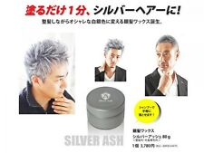 Silver Ash Coloured Cosplay Hair WAX 80g From Japan Free shipping