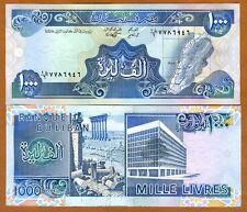Lebanon, 1000 Livres, 1988, Pick 69 (69a), UNC