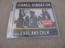 ISRAEL VIBRATION COOL AND CALM CD/DVD COMBO *RARE* SOUTH AFRICA Cat# REVCDD659