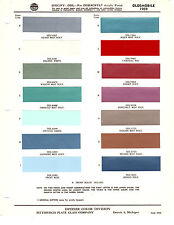 1959 OLDSMOBILE DYNAMIC SUPER 88 98 59 PAINT CHIPS DITZLER 15