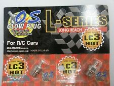 O.S. OS LC3 Glow Plug Hot T-Maxx Revo use 1pcs cap