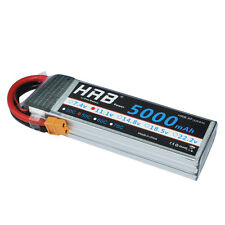 HRB 11.1V 5000mAh 3S1P 50C-100C XT60 LiPo Battery for RC Plane Traxxas Car Drone