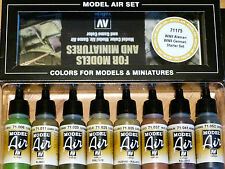 Vallejo Model Air WWII German Starter Colour Set For Airbrush or Brush