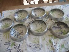 7 Aluminium Plate Stacking Ring's,Space Savers,Tiny Kitchen,Camper Van !