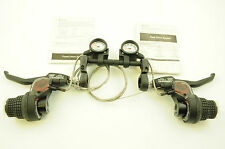 SHIMANO SB-C051-7  21 SPEED REVO GRIP TYPE SHIFTER BRAKE LEVERS + CI DECK 60% OF