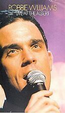 ROBBIE WILLIAMS - LIVE AT THE ALBERT - VHS PAL (UK) VIDEO