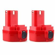 2X 12V PA12 2000mAh Rechargeable Battery for Makita 1220 1222 1233S 1233SB