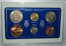 1967 Vintage Coin Set 49th Birthday Birth Year Present Wedding Anniversary Gift