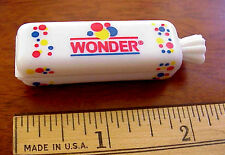 WONDER BREAD MINI LOAF 2001 Interstate Brands Plastic Advertising Package Clip