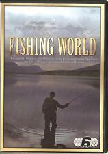 Fishing with John Wilson and Paul Young FISHING WORLD & HOOKED ON FISHING 6 DVDs