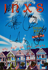 INXS - MICHAEL HUTCHENCE SIGNED 12X18 PHOTO GREAT CONCERT POSTER IMAGE
