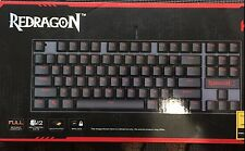 Redragon K552-R KUMARA Rainbow LED Backlit Mechanical Gaming Keyboard (Black)