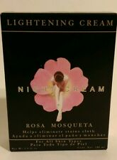 CREMA ACLARADORA DE NOCHE ROSA MOSQUETA/ BRIGHTENING NIGHT CREAM+ROSEHIP OIL