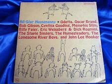 Rare Blues Folk LP :  All-Star Hootenanny ~ Memphis Slim ~ Riverside 7539