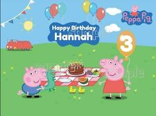 PEPPA PIG edible Image Cake topper Frosting sheet Decoration Birthday Party