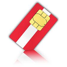 SIM Karte für Österreich 750MB mobiles Internet & int. Anrufe Nano