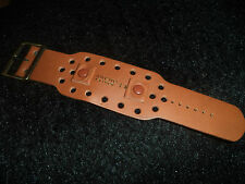 Large NOS wrist band watch strap Rancho Leather Men Women vintage late 1960